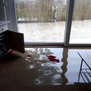Überschwemmungen im Haus